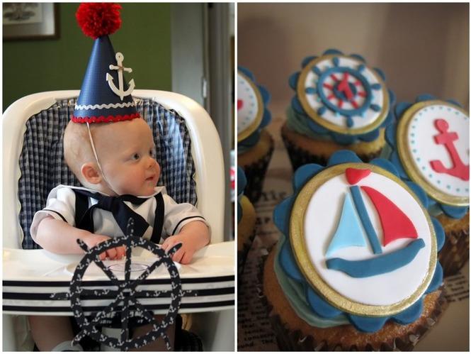 Оформление детского дня рождения в морском стиле своими руками 58